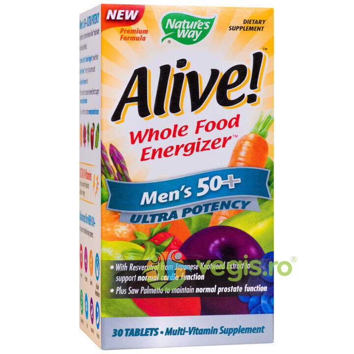 NATURES  WAY Alive Men's 50+ Ultra 30tb