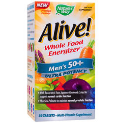 Alive Men's 50+ Ultra 30tb NATURE'S  WAY