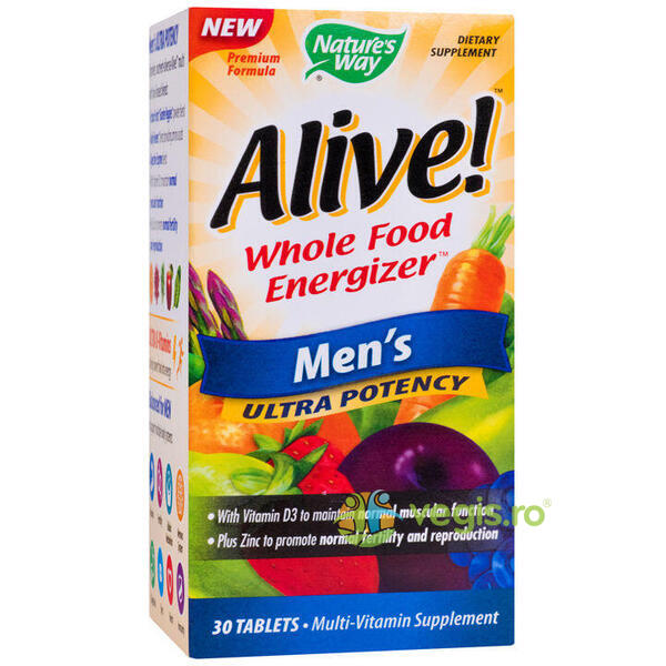 Alive Men's Ultra 30tb NATURE'S  WAY