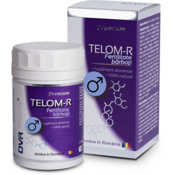 Telom-R Fertilitate Barbati 120cps DVR PHARM