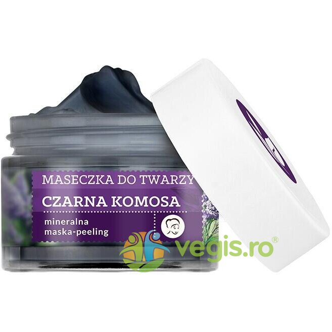 FARMONA Herbal Care Masca Peeling Purificatoare si Detoxifianta cu Quinoa Neagra și Argila Ghassoul 50ml