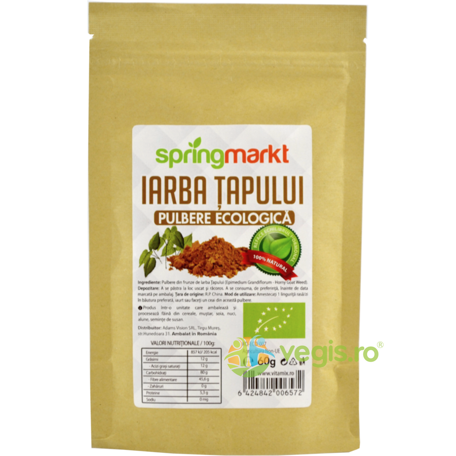Horny Goat Pulbere Ecologica/Bio 60g