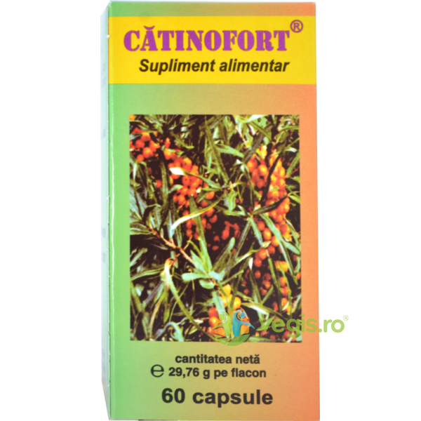 Catinofort 60cpsx0.4gr HOFIGAL