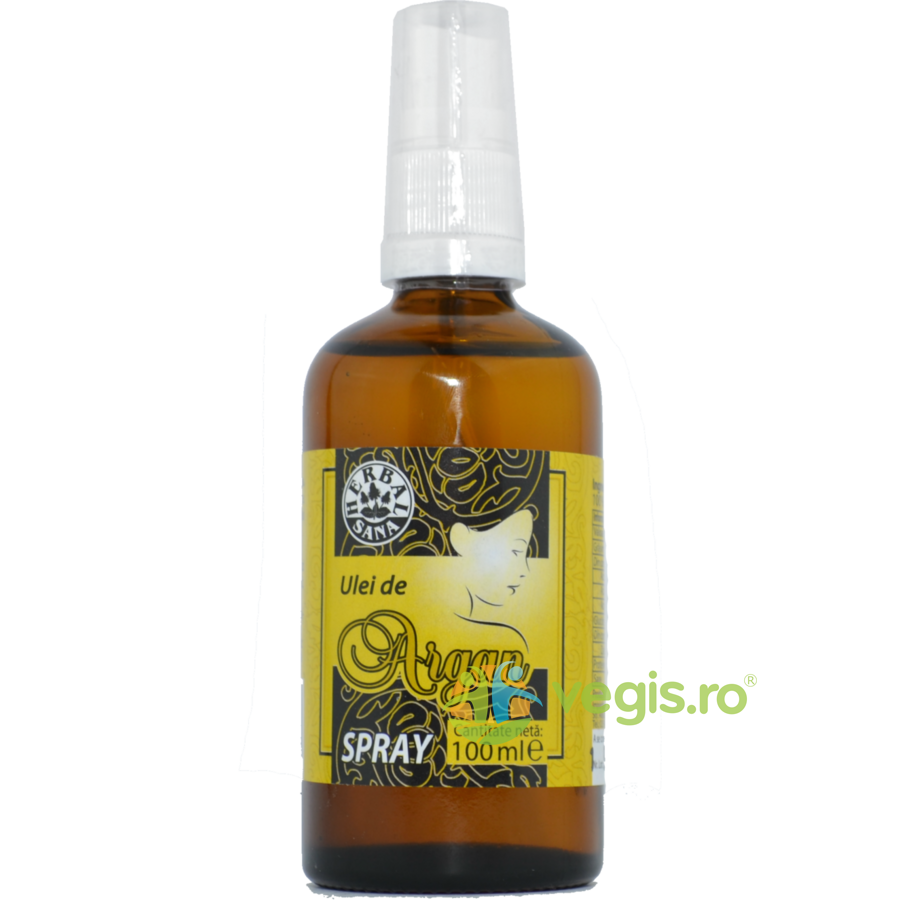 HERBAVIT Ulei de Argan Presat la Rece Spray 100ml