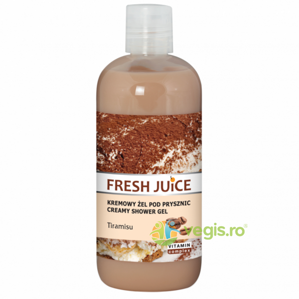 Gel de Dus Cremos cu Tiramisu 500ml FRESH JUICE