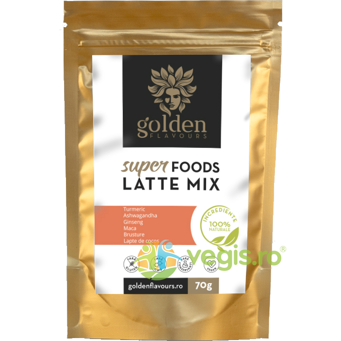 GOLDEN FLAVOURS SuperFoods Latte Mix 70g