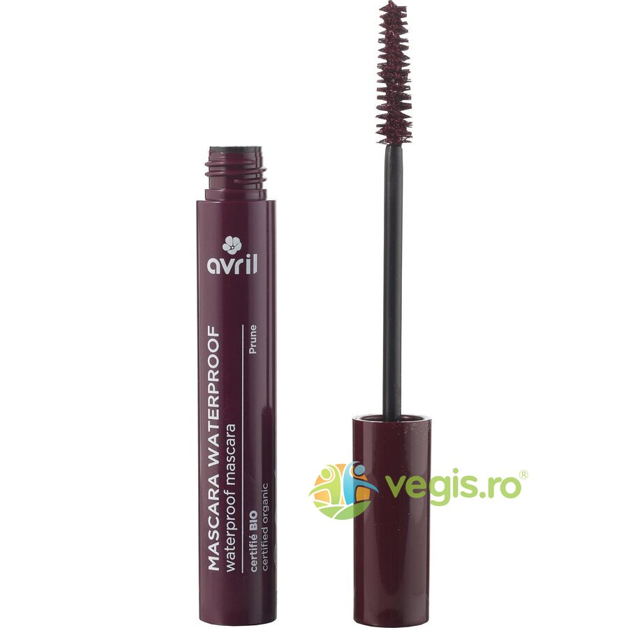 Rimel  (Mascara) Ecologic/Bio Waterproof Pruna 10ml