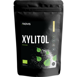 Xylitol (Xilitol) Pulbere (Pudra) Ecologica/Bio 250g NIAVIS