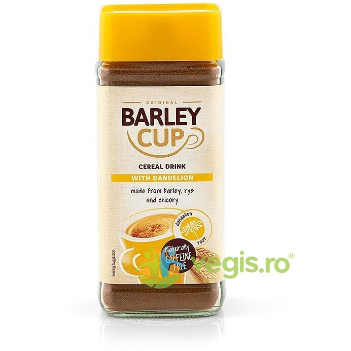 GRANA Barley Cup Bautura Instant din Cereale cu Papadie 100g