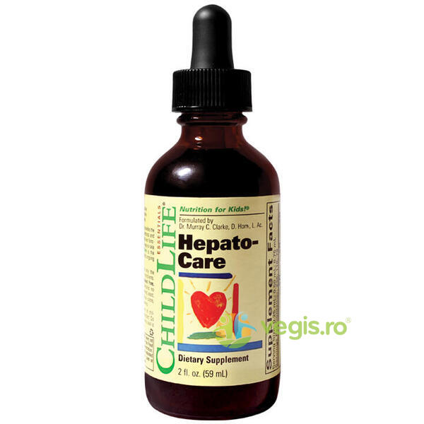 Hepato-Care 59ml XYZ CHILD LIFE ESSENTIALS