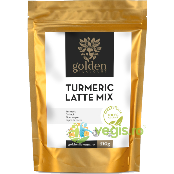 GOLDEN FLAVOURS Turmeric Latte Mix 210g