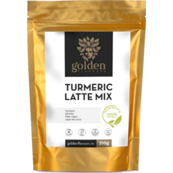 Turmeric Latte Mix 210g GOLDEN FLAVOURS
