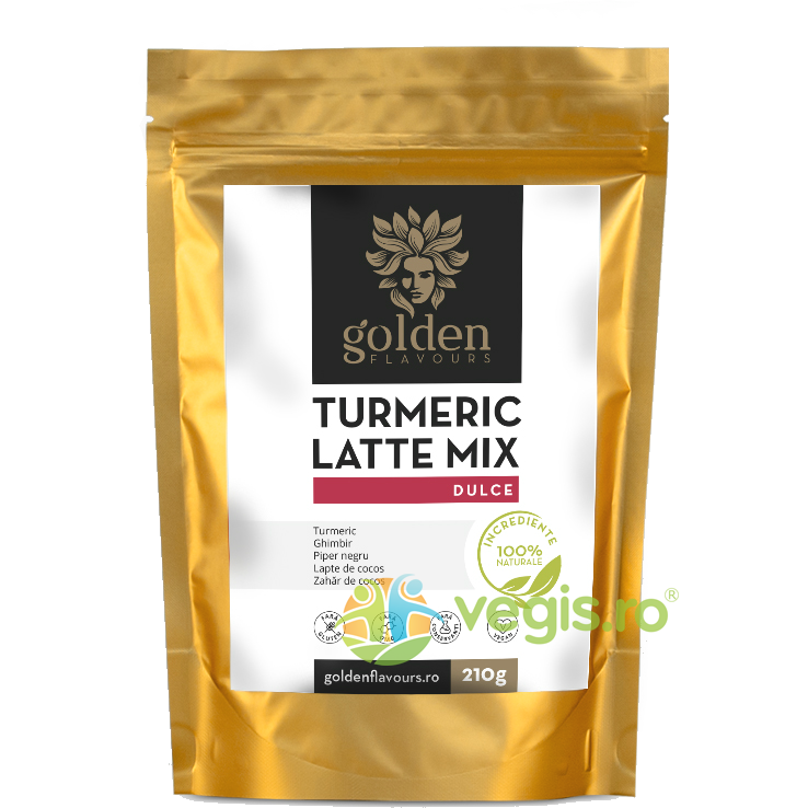 GOLDEN FLAVOURS Turmeric Latte Mix Dulce 210g