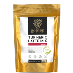 Turmeric Latte Mix Dulce 210g GOLDEN FLAVOURS