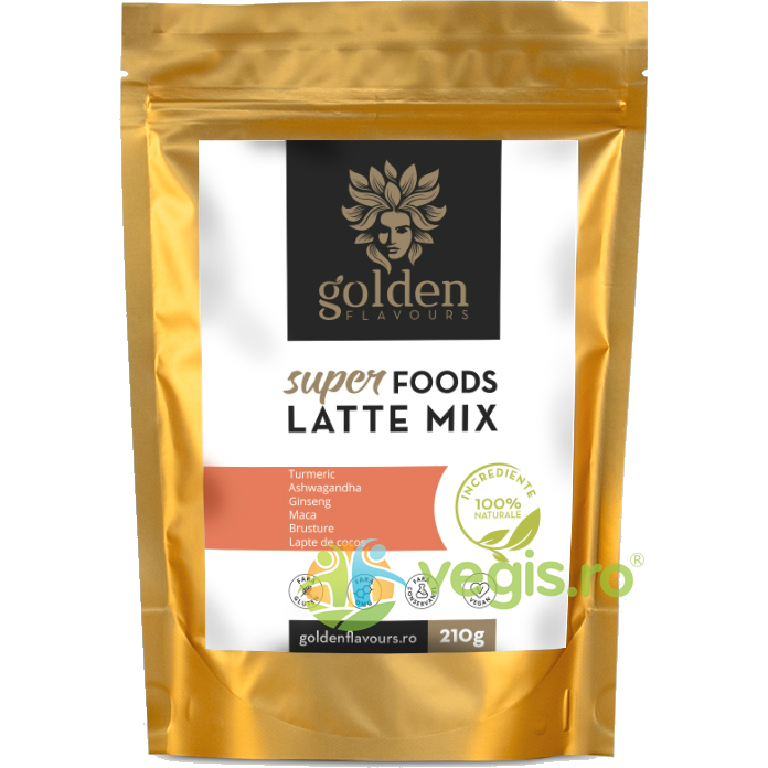 GOLDEN FLAVOURS SuperFoods Latte Mix 210g