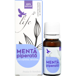 Ulei Esential de Menta Piperata 10ml BIONOVATIV