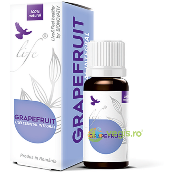 Ulei Esential de Grapefruit 10ml BIONOVATIV