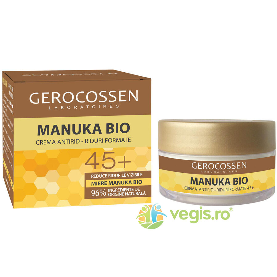 Super Offers - gerocossen crema antirid riduri formate 45 plus manuka bio 50ml 73509 - Super Offers