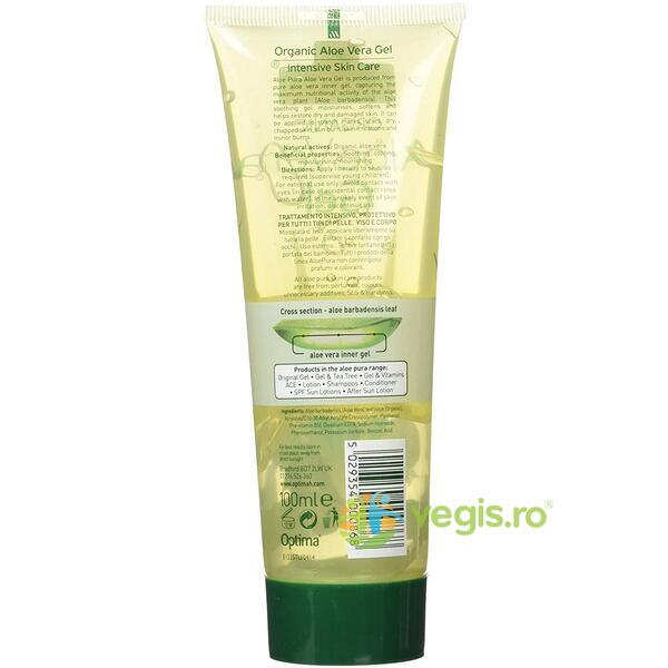 Gel cu Aloe Vera 99.9% 100ml OPTIMA