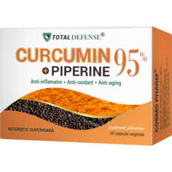 Curcumin + Piperine 95% 30cps COSMOPHARM