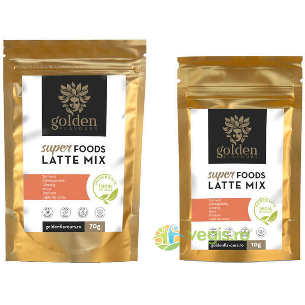 SuperFoods Latte Mix 70g + 10g GRATIS GOLDEN FLAVOURS