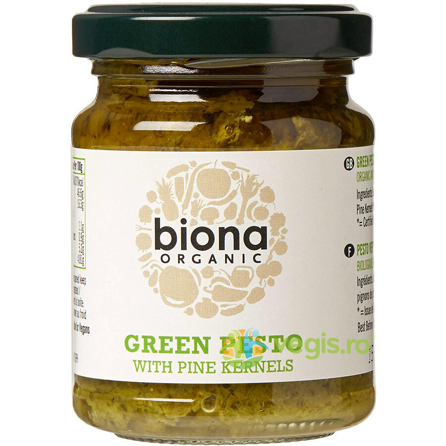 Pesto Verde Ecologic/Bio 120g imgine