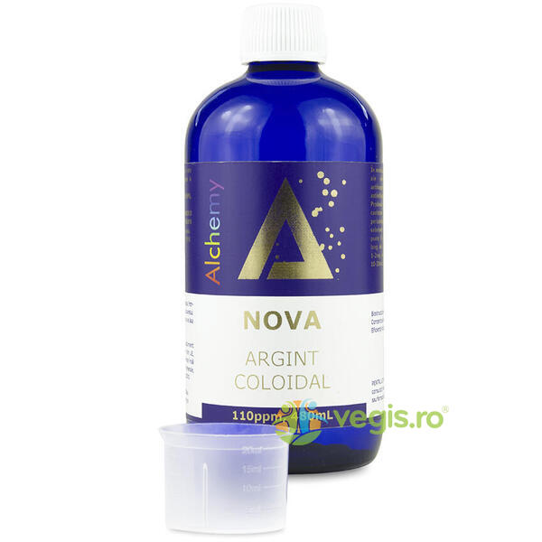 Argint Coloidal Nova (110ppm) 480ml PURE ALCHEMY
