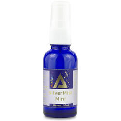 Argint Coloidal SilverMist Mini (10ppm) Pulverizator Spray 30ml PURE ALCHEMY
