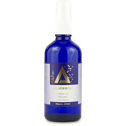 Argint Coloidal SilverMist (40ppm) Pulverizator Spray 100ml PURE ALCHEMY