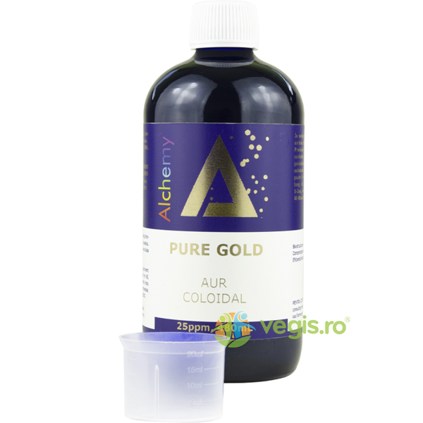 Aur Coloidal PureGold (25ppm) 480ml PURE ALCHEMY