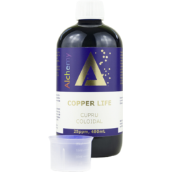 Cupru Coloidal Copper Life (25ppm) 480ml PURE ALCHEMY