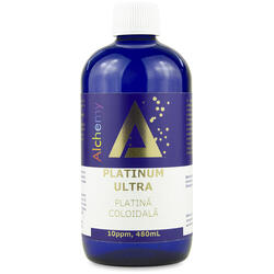 Platina Coloidala Platinum Ultra (10ppm) 480ml PURE ALCHEMY
