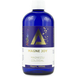 Magneziu Coloidal Magne Joy (70ppm) 480ml PURE ALCHEMY