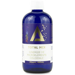 Total Mix Sinergie de Microelemente Coloidale (20ppm) 480ml PURE ALCHEMY