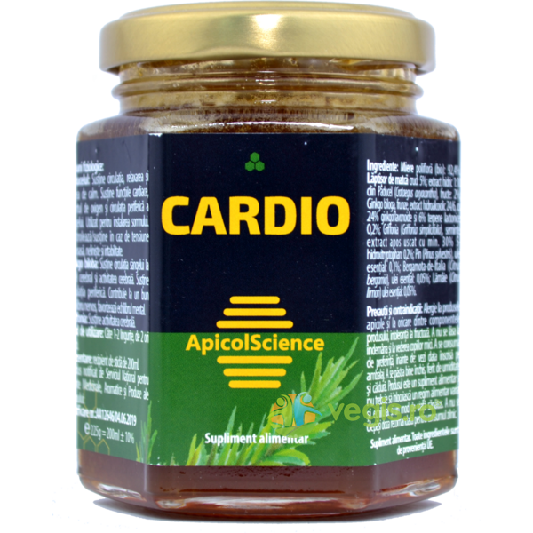 Cardio 200ml APICOLSCIENCE