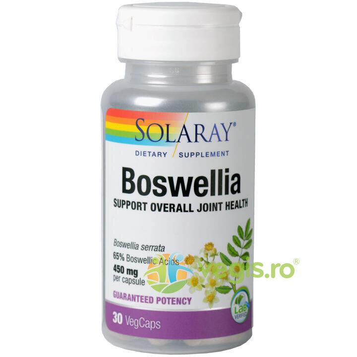 SOLARAY Boswellia (Tamaie) 450mg 30cps vegetale
