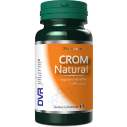 Crom Natural 30cps DVR PHARM