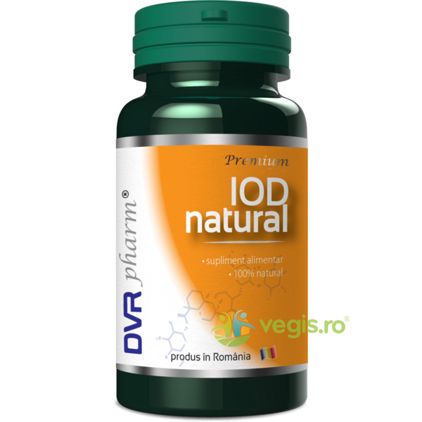 Iod Natural 30cps DVR PHARM
