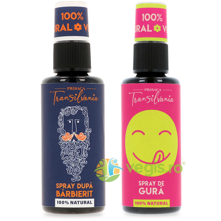 Spray Natural dupa Barbierit 50ml + Spray de Gura Natural 50ml Pachet pentru EL thumbnail