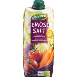 Suc de Legume Vegan Ecologic/Bio 500ml DENNREE