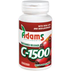 Vitamina C 1500mg Macese 30tb ADAMS VISION