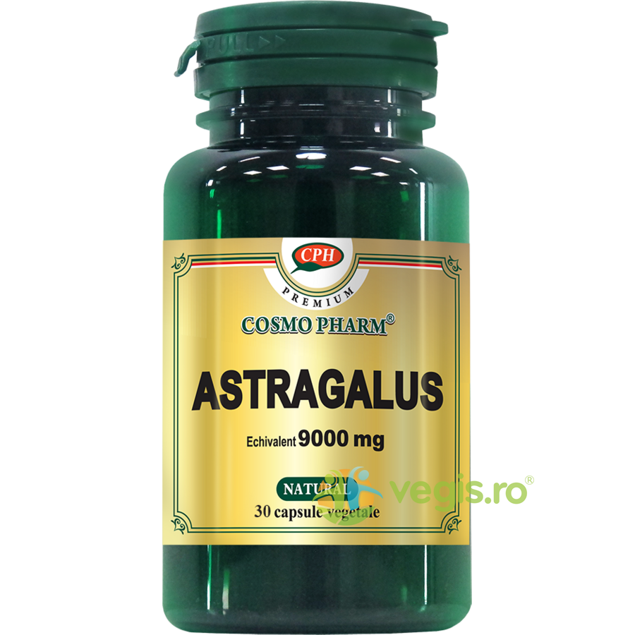 COSMOPHARM Astragalus Extract 450mg echivalent 9000mg 30cps Premium