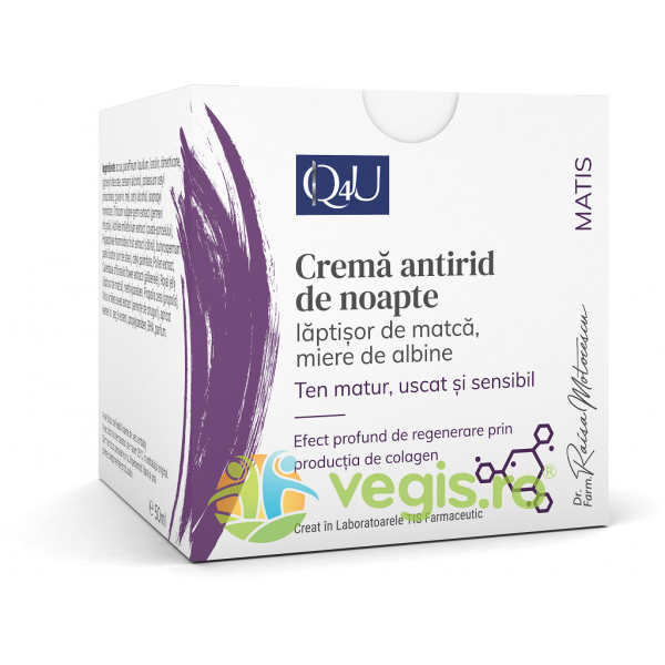 TIS FARMACEUTIC Crema Antirid cu Laptisor de Matca 50ml