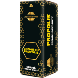 Crema Heavy-Duty cu Propolis 50ml APICOLSCIENCE