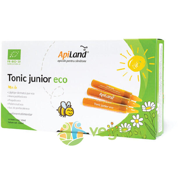 Tonic Junior Ecologic/Bio 10 fiole imagine produs 2021