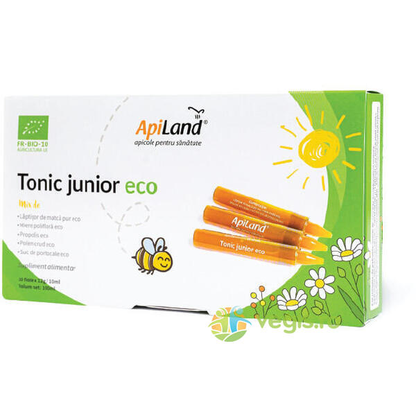 Tonic Junior Ecologic/Bio 10 fiole APILAND