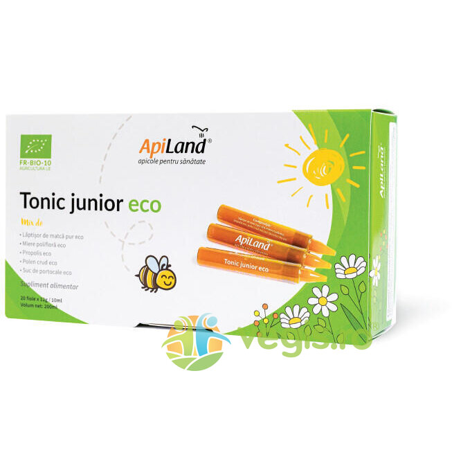 Tonic Junior Ecologic/Bio 20 fiole imagine produs 2021