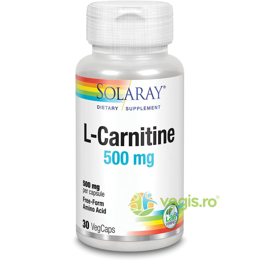 SOLARAY L-Carnitine 500mg 30cps
