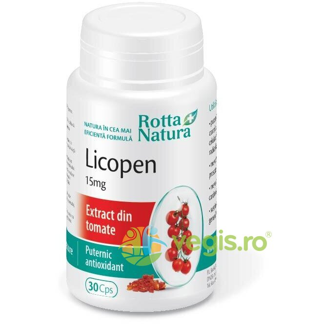Licopen 15mg 30cps