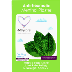 Plasture Antireumatic cu Mentol 12x18cm EASY CARE
